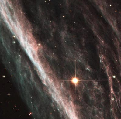Туманность NGC 2736. Фото NASA и The Hubble Heritage Team с сайта hubblesite.org